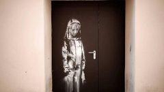 Banksy'nin resmini çaldılar