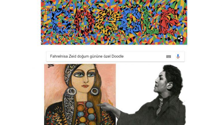 Fahrelnisa Zeid Doodle oldu