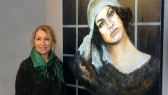 Serpil Başaran resim sergisi Galeri İdil'de