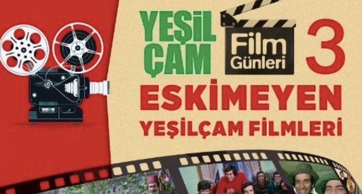 3. Yeşilçam Film Günleri nostaljik sinema festivali