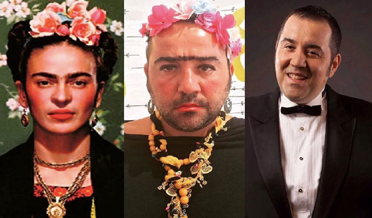 Ata Demirer'e Frida Kahlo tepkisi