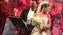 Hazal Kaya ve Ali Atay evlendi