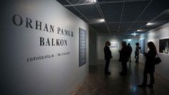 Orhan Pamuk Balkon Fotoğrafları sergisi açıldı