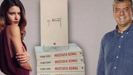 Yılmaz Özdil'den Beren Saat için imzalı Mustafa Kemal kitabı