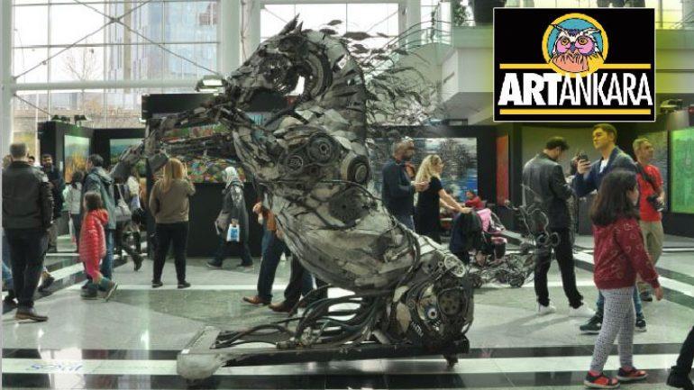 Art Ankara Uluslararası Çağdaş Sanat Fuarı açılıyor