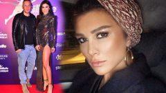 Hamdi Alkan'ın eşi Selen Görgüzel kıyafetiyle dikkat çekti