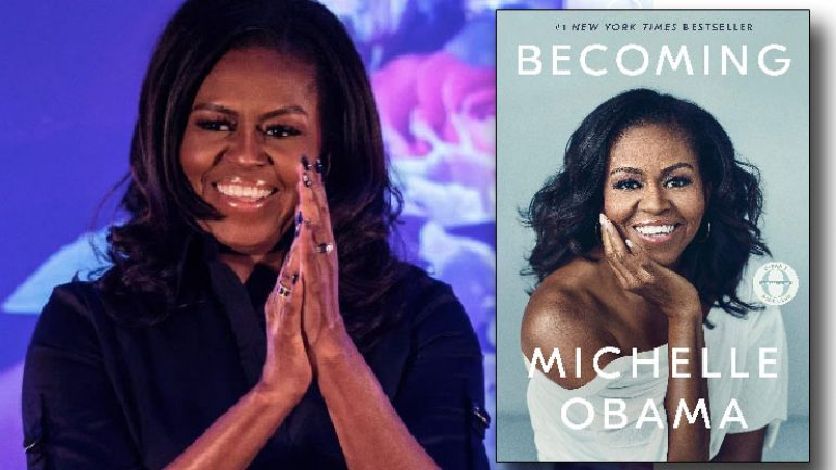 Michelle Obama kitabı on milyon sattı