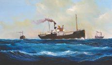 Haslet Soyöz Türk Armatörlerinin Buharlı Gemileri sergisi