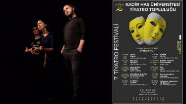 Kadir Has Üniversitesi Tiyatro Festivali başlıyor