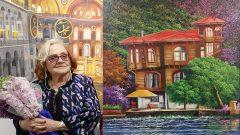 Nur Ulubil eski İstanbul resimleri sergisi