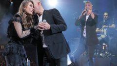 Özcan Deniz İsrail konserinde Aslı Enver ile birlikte
