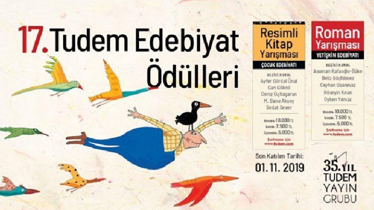 TUDEM Edebiyat Ödülleri başvuruları başladı