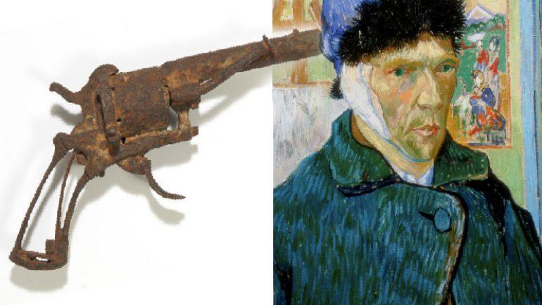 Van Gogh'un silahı müzayedede