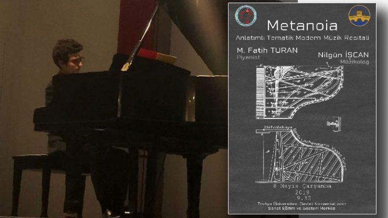 Edirne'de anlatımlı piyano resitali