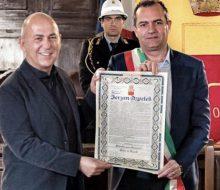 Ferzan Özpetek Palermo fahri vatandaşı