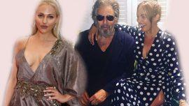 Meryem Uzerli Al Pacino ile sarmaş dolaş
