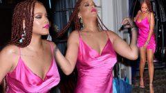 Rihanna mağaza açılışında