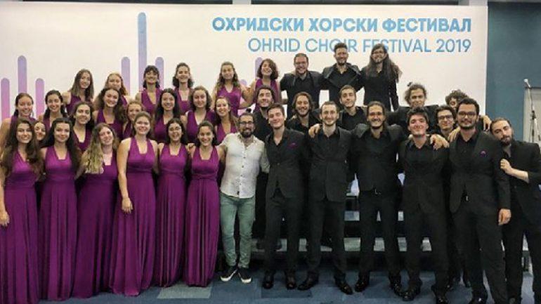 Boğaziçi Gençlik Korosu Makedonya'da en iyi koro seçildi