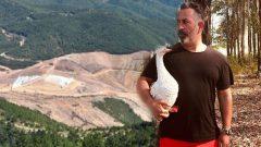 Cem Yılmaz Kaz Dağları protestosu