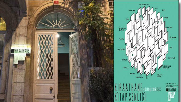 Kıraathane İstanbul Edebiyat Evi Kitap Şenliği başlıyor