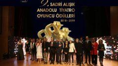 Sadri Alışık Anadolu Tiyatro Oyuncu Ödülleri töreni