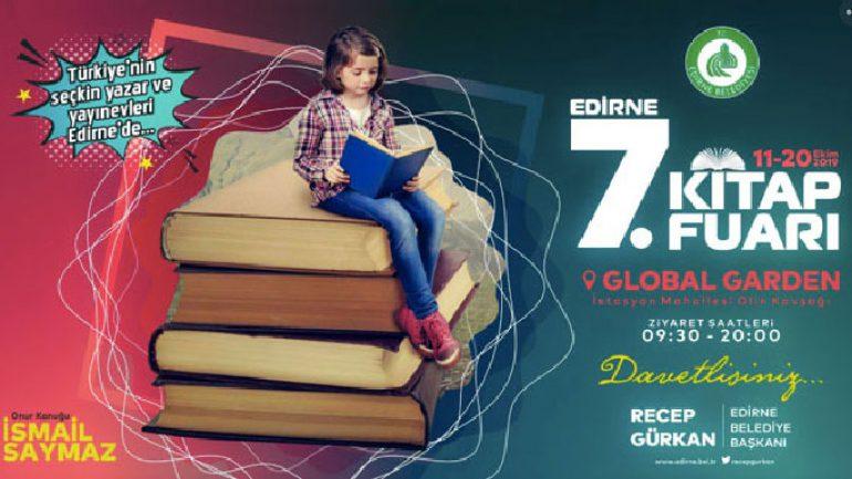 Edirne Kitap Fuarı 2019 hangi yazarlar katılıyor