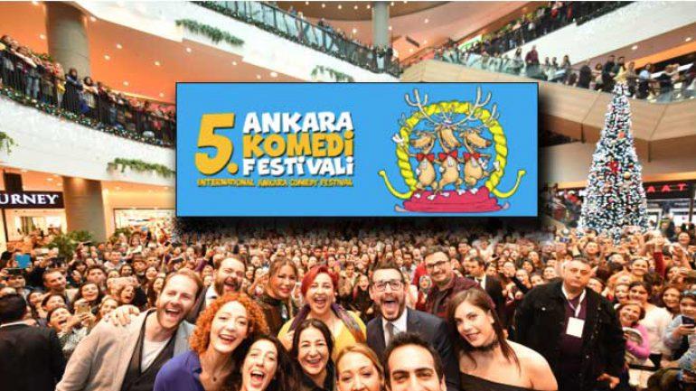 Ankara gülecek – Ankara Uluslararası Komedi Festivali programı