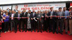 Antalya Kitap Fuarı 2019 açıldı