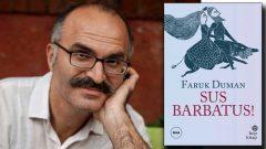 Cevdet Kudret Edebiyat Ödülü Faruk Duman'ın
