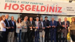 Edirne Kitap Fuarı 2019 açıldı