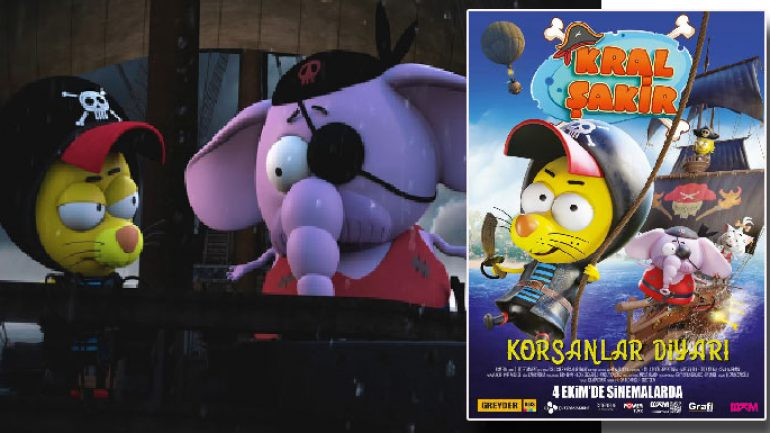 Kral Şakir Korsanlar Diyarı sinemada büyükleri de salona sokuyor