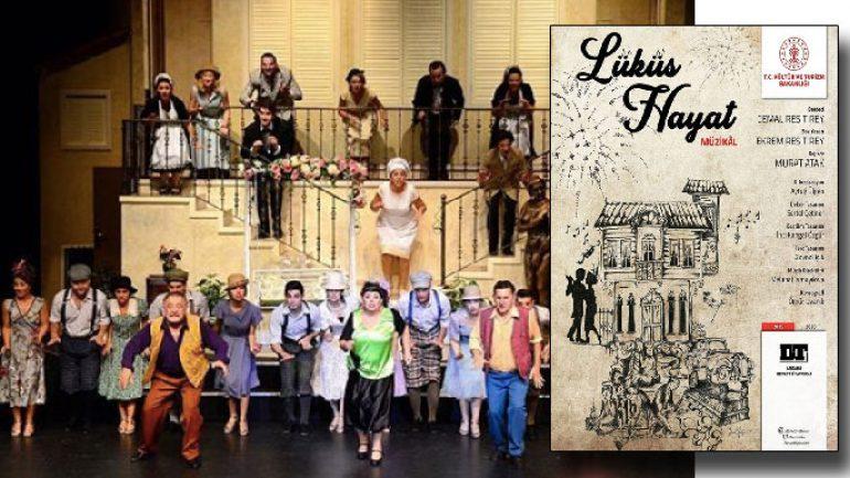 Lüküs Hayat Devlet Tiyatroları'nda ilk kez
