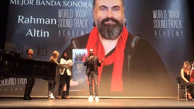 Rahman Altın İspanya'da En İyi Film Müziği ödülü
