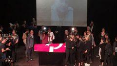 Tarık Ünlüoğlu sahneden son yolculuğuna uğurlandı