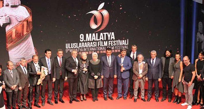 9. Malatya Film Festivali onur ödülleri verildi