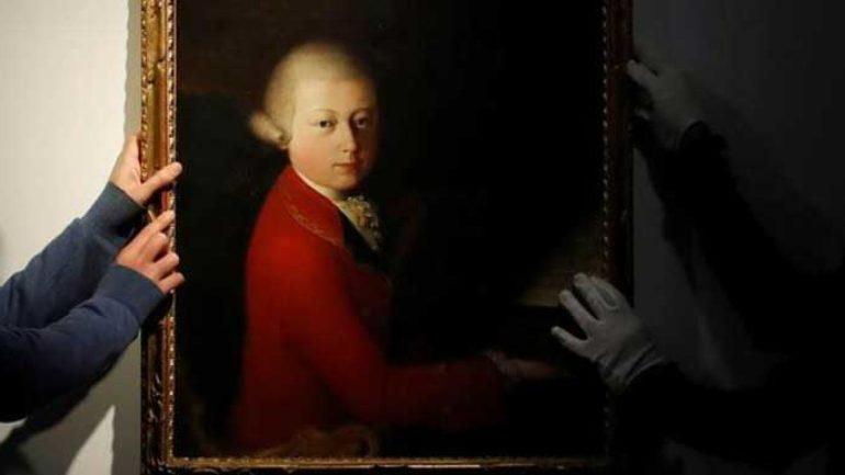Çocuk Mozart portresi 4 milyon Euro