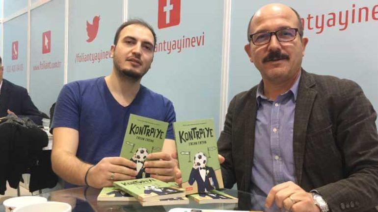 Ercan Ertan Kontrpiye romanında futbolcunun aşk rekabetini anlatıyor