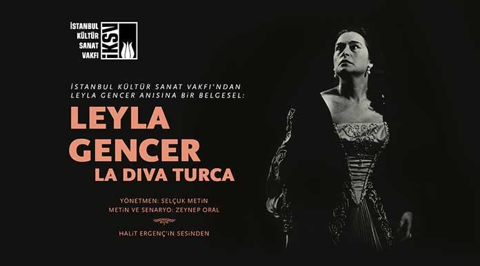 La Diva Turca Leyla Gencer belgeseli Süreyya Operası'nda