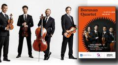 Borusan Quartet Beethoven'ın 250. Doğum Yılı'nın ilk konserinde