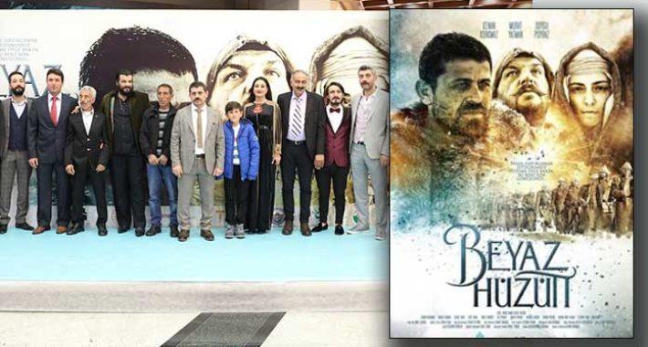 Beyaz Hüzün Sarıkamış filminin galası yapıldı