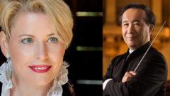 İDSO yeni yıl konserinde soprano Birgitta Wetzl