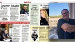 Sayım Çınar her çarşamba Hürriyet Kelebek'te yazıyor