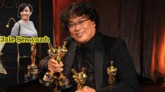 Güzel insan Bong Joon Ho Oscar tarihine imza attı