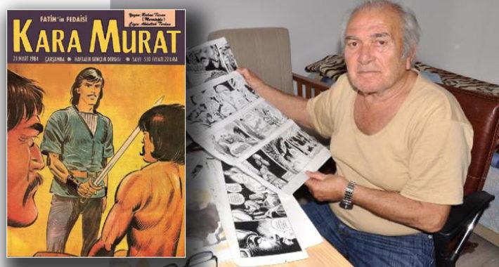 Kara Murat'ın çizeri Abdullah Turhan vefat etti