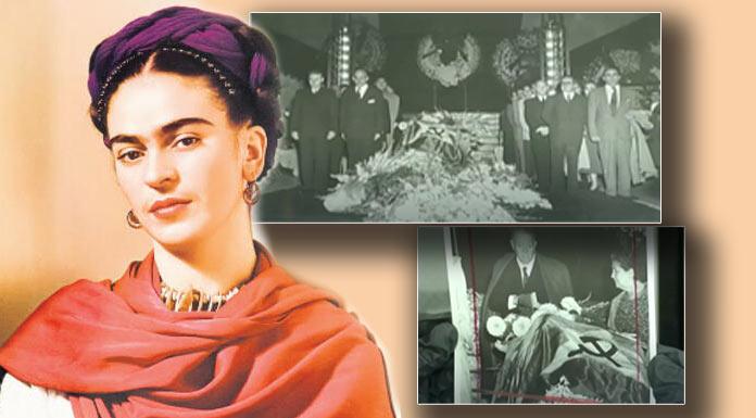 Frida Kahlo'nun cenaze töreni fotoğrafları satışa çıkıyor