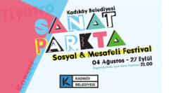 Kadıköy'de Sanat Parkta Festivali sosyal mesafeli düzenleniyor
