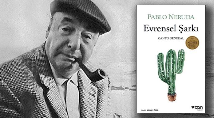 Pablo Neruda'nınEvrensel Şarkı şiir kitabı