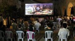 Safranbolu'da açık havada sinema keyfi başladı