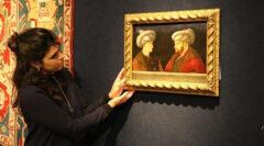 Fatih Sultan Mehmet portresi İstanbul'a getiriliyor